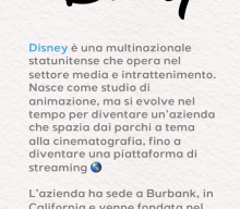 Scopri l'azienda: Disney